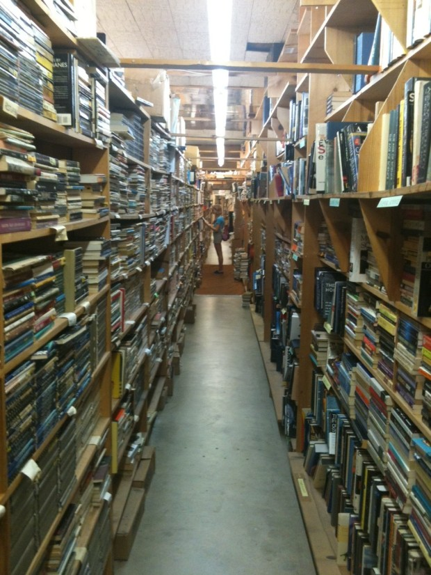 the smell of used books